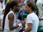 Rafael Nadal cayó ayer en Wimbledon.