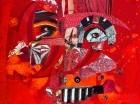 Obra de Pepe Mar, la cual forma parte de la exposición.