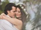 Iamdra y Andrés se casaron luego de un noviazgo de más de dos años. Cortesía: liz & luis