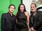 David Chiang, Patricia Maríñez y Frank Rodríguez.