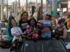 La marcha de los LGTB recorrió diversos sectores del DN y Santo Domingo Este.