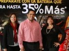 Dary Bernardino, Sirio Martin y Elizabeth Robles.