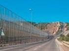Muro en la frontera Ceuta y Melilla.