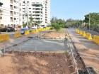 El Ministerio de Obras Públicas avanza en los trabajos de construcción de un retorno en la avenida Núñez de Cáceres, con el objetivo de que los vehículos que venga en dirección Sur–Norte, una vez salgan del túnel, puedan cruzar al carril en dire