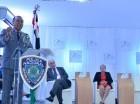 Manuel Castro Castillo habla en la inauguración del foro.