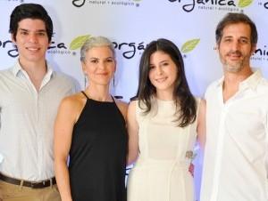 Marco Dos Santos, Isabel Paiewonsky, Daniela Dos Santos y Ruy Dos Santos.