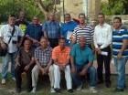 Nelson Sosa junto a los demás miembros de la  Adofres.