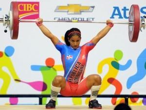 Vázquez rompe récords panamericanos en pesas