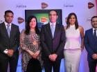 Rafael Pichardo, Desiree Logroño, Abdelhakim Boubazine, Rosario Veras y Gabriel Tellerías.