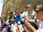 Francisco Guerrero, jefe de la misión de la OEA en el país, prometió ante la prensa que de la visita saldría un informe objetivo.