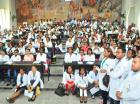 Residentes participaron en asamblea realizada en la UASD.
