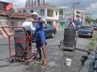 La escasez de agua potable ha sido una constante este año.