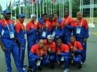 Delegación dominicana de boxeo que ve acción en los Juegos Panamericanos 2015.