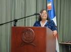La diputada del PLD Magda Rodríguez.