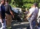 Accidente en el tramo carretero Sosua-Cabarete.