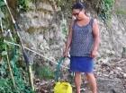 Se agudiza la escasez de agua potable en varias comunidades.