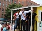 La leyenda del merengue Johnny Ventura estuvo presente en el gran evento. Cortesía: bachata24k.com