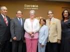 José García, Pedro Sing, Altagracia Guzmán Marcelino, Maritza López, Carlos Montero Brens y Mery Hernández.