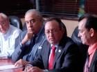 Miguel Sánchez, Félix M. García C., Ángel Estévez y Emigdio Gómez.