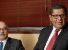 Los ejecutivos de Pawa explicaron al director de elCaribe sus proyectos.