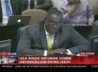 Bocchit Edmond, embajador haitiano ante la OEA.