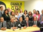 """Miembros de """"Abogados con Danilo""""."""