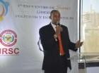 Pablo Román, secretario general de la Juventud del Partido Reformista Social Cristiano (JRSC).