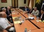 La Comisión de Aplicación y Seguimiento del Protocolo para el Combate y Erradicación de la Mosca del Mediterráneo.