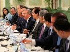 Danilo Medina encabezó la reunión en Palacio Nacional.
