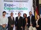 Inauguración de la Expo-Feria de Capacitación y Educación Continuada.