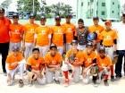 Integrantes de equipos de Capotillo, campeón del Gran Santo Domingo.