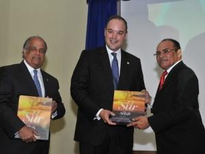 Juan Daniel Balcácer, José del Castillo Saviñón y Carlos Julio Féliz.