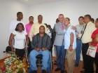 El director ejecutivo del INAPA, Alberto Holguín, durante la presentación del programa de Inclusión de las Personas con Discapacidad al Mercado laboral.