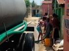 El agua fue suministrada a través de los camiones cisternas a más de 100 sectores de los municipios Santo Domingo Norte y Oeste.