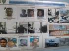 Imagen dada a conocer por la Policía sobre los supuestos implicados en el asalto al Banco Popular.