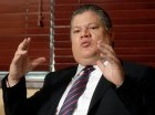 El mayor general Julio César Souffront pasó balance a los principales logros de su gestión al frente de la agencia antidrogas.