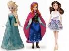 Las hermanas Elsa y Anna, personajes de Frozen, son, junto a la cantante Violetta, de Disney Channel, los personajes que acaparan el mercado.