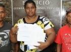 Felícita Campusano reclamó que le reinscriban a sus hijos.