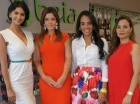 Kimberly Castillo, Sara Corripio, Arleny Lantigua e Ingrid Vargas.