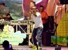 El cantante Arcángel conquistó al público con sus temas más populares.