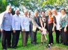 """Dan primer palazo para la construcción del del cementerio privado """"Jardines del Recuerdo""""."""