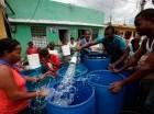 La falta de lluvias mantiene la escasez de agua potable en algunos sectores.