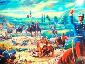 La guerra restauradora se libró el 16 de agosto de 1863.