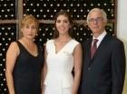 Mercedes García, Claudia Pellerano y Fernando Pellerano.