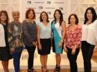 Martha Peralta, Dra. Mercedes Jáquez, Dra. Martha Nina, Aileen Ginebra, Elena Camacho, Yanet Olivares y Eglee Heredia.