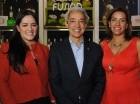 Heidi Pineda, Luis Concepción y Mery Melo.