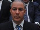 Junior Arias Noboa, presidente de la Federación Dominicana de Esgrima.