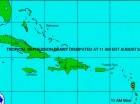 Dany se convirtió en una depresión tropical.