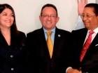 Josefina Diéguez, Ángel Estévez y Julio de Beras.
