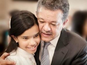 Hija de Leonel y Margarita cumple hoy 12 años